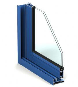 Perfil de ventana corredera Triana